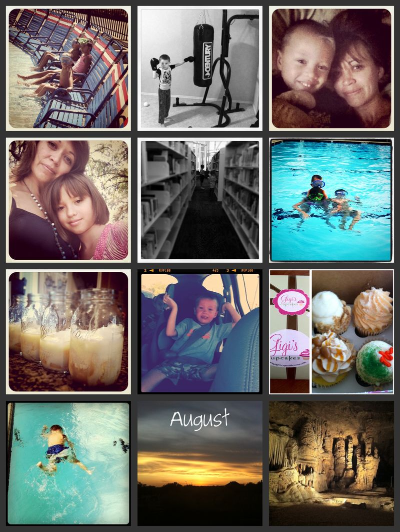 Augustcollage